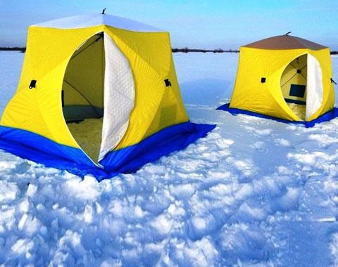 Палатки зимние куб