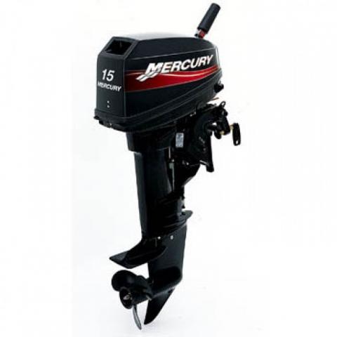Двухтактный мотор Mercury 15 MH