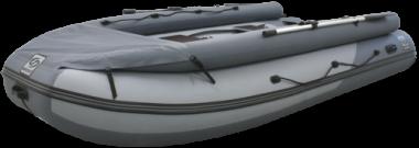 Надувная лодка ПВХ Фрегат 350 Air F с НДНД, фальшбортом и фартуком