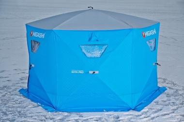 Палатка зимняя утепленная 6-гранная