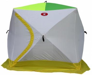 Зимняя 2-х местная палатка «Медведь КУБ-2 эконом» (трехслойная)