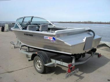 Алюминиевый катер Квинтрекс 455 Coast Runner