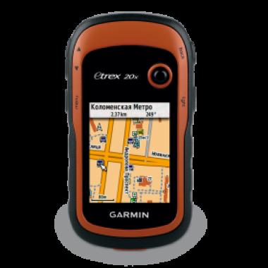 eTrex 20х GPS, Glonass Rus