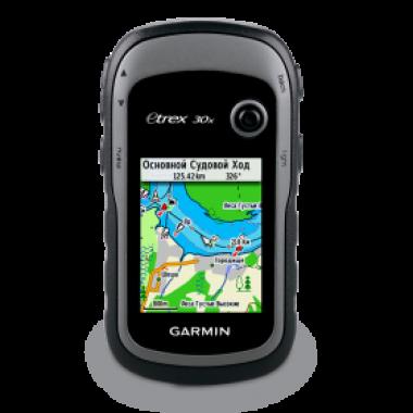 eTrex 30х GPS, Glonass Rus