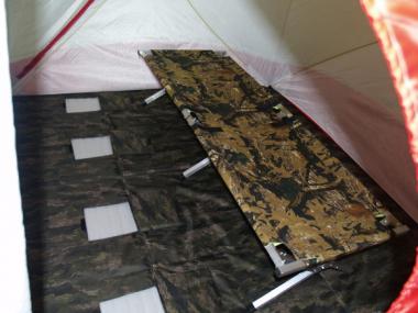 Пол для палатки Медведь  КУБ-4